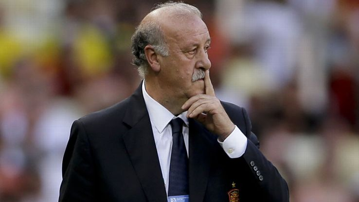 Spain coach Vicente del Bosque has won the World Cup and the European Championship