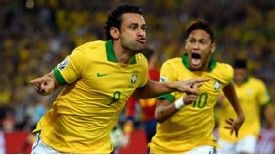 Fred handed Brazil the ideal start to the final