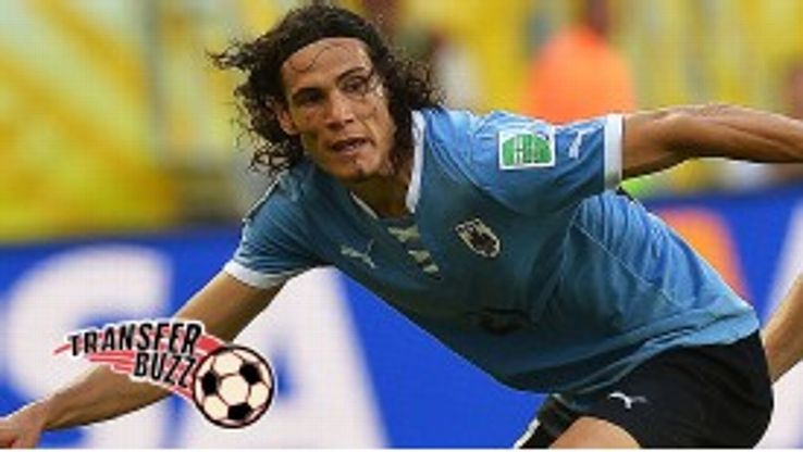 Edinson Cavani will hold talks once he has returned to Italy