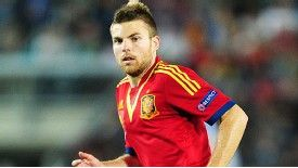 Asier Illarramendi in action for Spain Under-21s