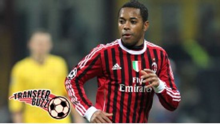 Robinho may return to Santos the club where he began his career.
