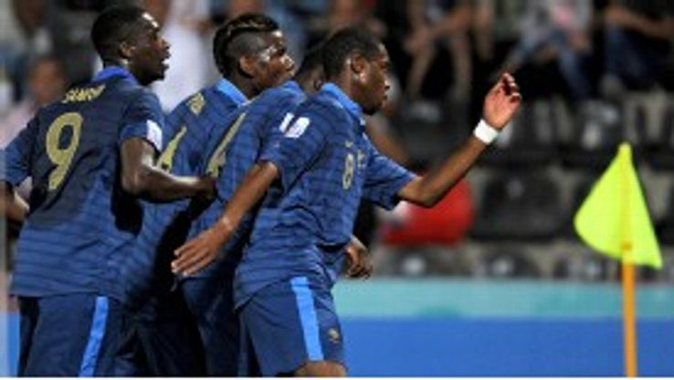 Geoffrey Kondogbia and his fellow Frenchmen will face Uzbekistan in the quarter-finals of the U20 World Cup.