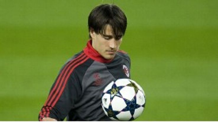 Bojan struggled to make an impact during his time in Italy