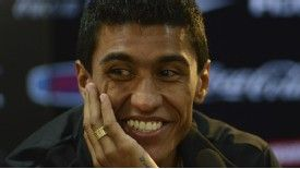 Paulinho has completed his transfer to White Hart Lane.