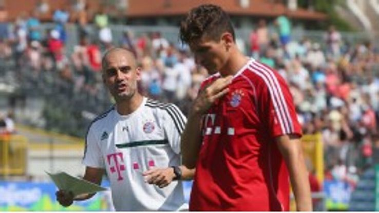 Mario Gomez is attracting interest from Italy.