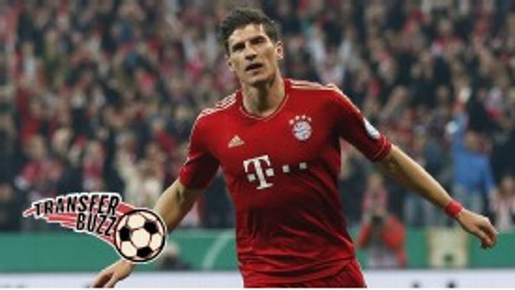 Mario Gomez is expected to join Fiorentina from Bayern Munich