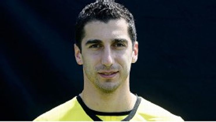 Mkhitaryan had impressed during his friendly appearances for Dortmund.