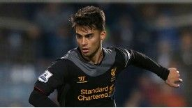 Suso broke into the Liverpool team last season.
