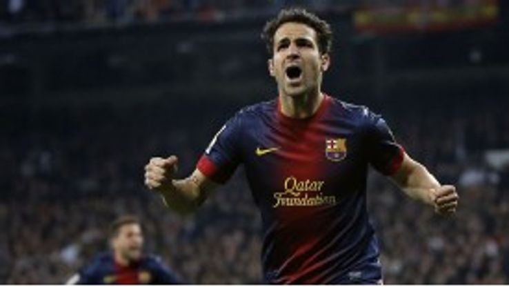 Fabregas left England in 2011 to return to his boyhood club.