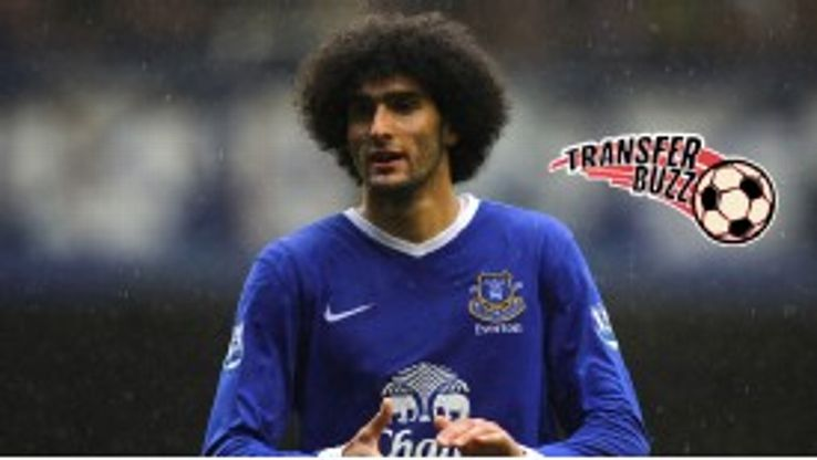 Marouane Fellaini could be reunited with David Moyes at Manchester United.