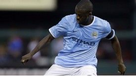 Yaya Toure limped off in the 83rd mintue of City's friendly defeat.