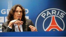 Edinson Cavani swapped Serie A for Ligue 1.