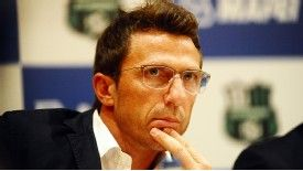 Eusebio Di Francesco spearheaded Sassuolo's march into the Italian top flight