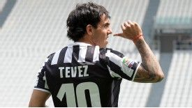 Carlos Tevez has taken the No.10 shirt previously worn by Juve legend Alessandro Del Piero.