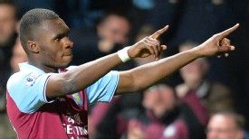 Christian Benteke had looked set to leave Villa Park before signing a contract extension