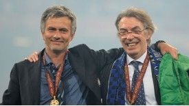 Jose Mourinho enjoyed a higly successful spell with Inter.