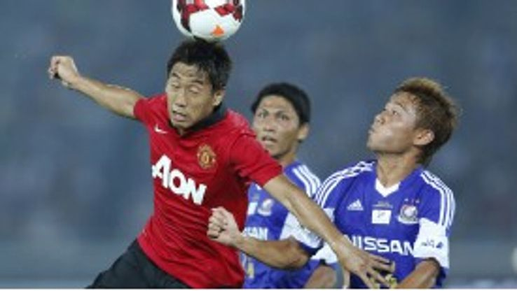 Shinji Kagawa proved a big hit for Manchester United on their pre-season tour of Asia.