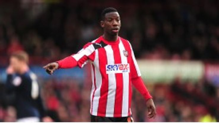 Bradley Wright-Phillips during his loan spell with League One side Brentford
