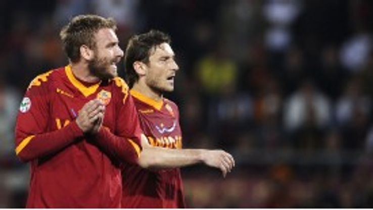 De Rossi has been linked with a summer move to Chelsea.