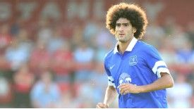 Marouane Fellaini might not fit in Roberto Martinez's formation at Everton.