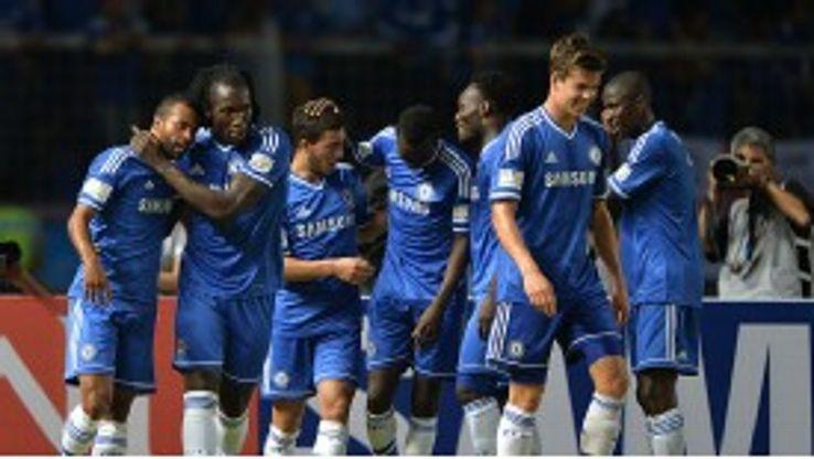 Romelu Lukaku again made an impression for Chelsea in pre-season.