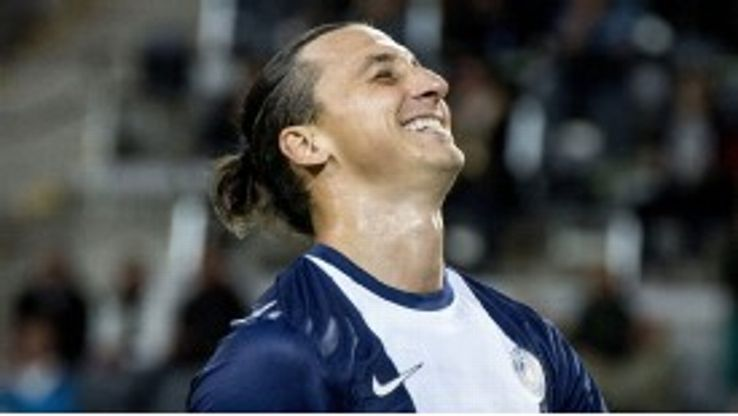 Ibrahimovic says he is happy in Paris.