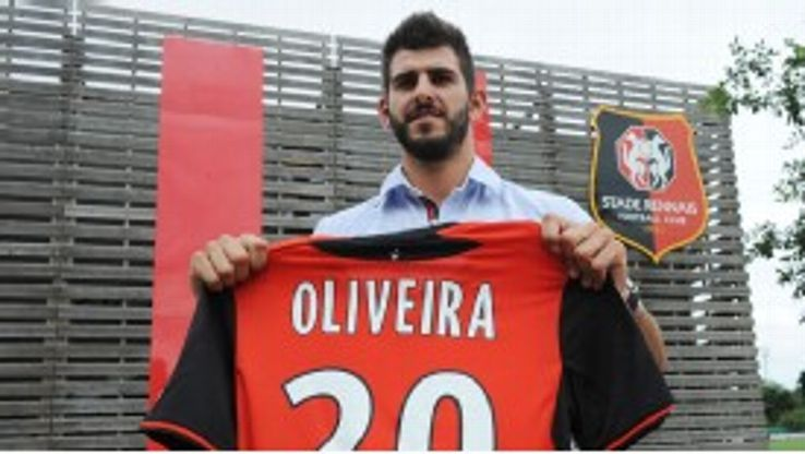 Oliveira has opted for a move to Ligue 1 side Rennes.