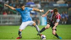 Negredo shone in his first two appearances for City.
