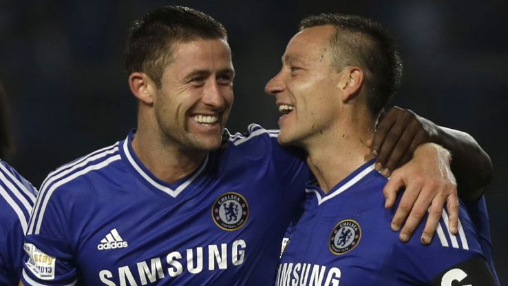 Gary Cahill and John Terry