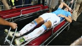 Matija Nastasic was stretchered off against Sunderland.