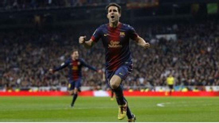 Fabregas vows to end career at Barca