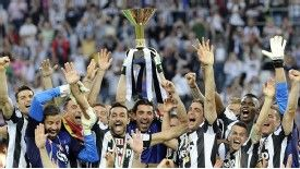 Juventus won the 2012-13 Serie A title by nine points.
