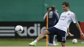 Fernando Gago is an Argentina international.