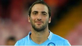 Gonzalo Higuain hopes to follow in the footsteps of Diego Maradona at Napoli.