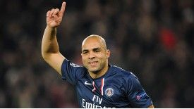 PSG's Alex scored the winner in the Trophee des Champions.