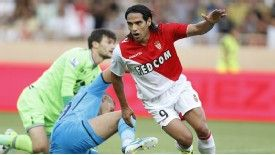 Tottenham were unable to keep Monaco star Radamel Falcao at bay.