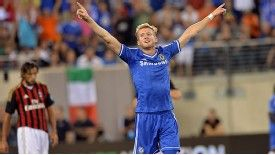 Andre Schurrle's volley sealed Chelsea's passage to the final.
