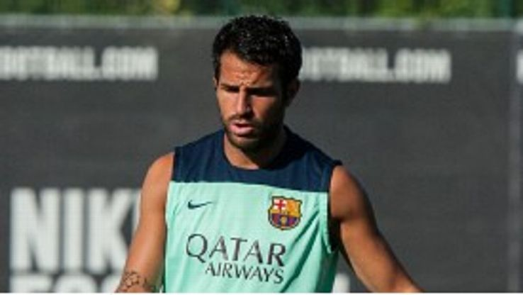 Cesc Fabregas appears set to remain at Barcelona for the coming season.