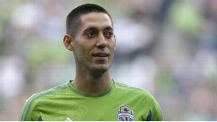 Clint Dempsey left Tottenham to join Seattle Sounders.