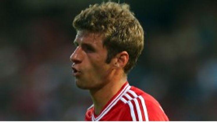Thomas Muller grabbed a hat-trick for Bayern Munich in their win against  BSV Schwarz-Weiß Rehden.