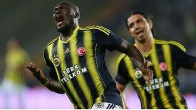 Moussa Sow scored one goal and set up another as Fenerbahce sealed their place in the play-offs.