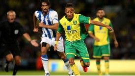 Norwich put in a dominant first-half performance to hold off Real Sociedad.