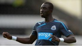 Papiss Cisse is set to lead the lead for Newcastle's opening match at Manchester City on August 19.