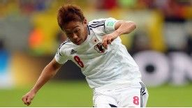 Hiroshi Kiyotake featured for Japan at the Confederations Cup.