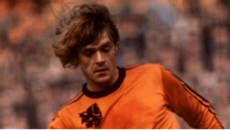 Johnny Rep won 42 caps for Netherlands.
