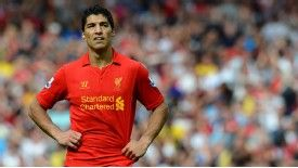 Luis Suarez's future remains shrouded in uncertainty.