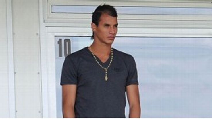 Marouane Chamakh was present for Palace's friendly with Lazio at the weekend.