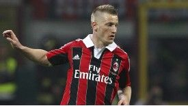 Ignazio Abate's availability would represent a boost for Milan.