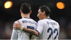 Angel Di Maria feels Cristiano Ronaldo may have saved his Real Madrid career.