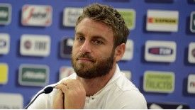 Daniele De Rossi has suggested he may leave Italy next summer.